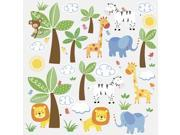 Jungle Friends Peel and Stick Wall Decals