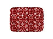 CafePress Neutral Snowflakes Baby Blanket