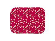 CafePress Girl Pink Cherry Blossom Burp Cloth