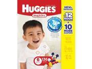 Huggies Snug & Dry Value Box Size 6 - 136 Count