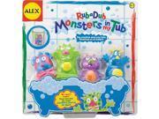 Alex Toys Rub A Dub Monster Squirters Bath Toy