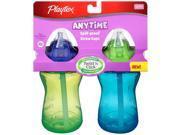 Playtex BPA Free Lil Gripper Straw Cup 9 oz. - Green / Blue