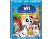 101 Dalmatians II: Patch's London Adventure 2 Disc Blu-Ray Blu-Ray/DVD/Digital