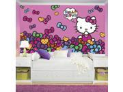 RoomMates Hello Kitty Bow-tastic Mural