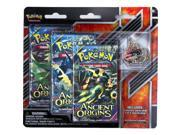Pokemon XY7 Ancient Origins Trading Card Game with Collector Pin