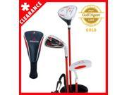 Paragon Rising Star Junior Package Kids Golf Club Set (Ages 3-5) Red RIGHT Hand