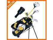 Winfield Junior Force Kids Golf Clubs Set / Ages 5-8 Yellow / Left-Hand