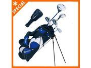 Winfield Junior Force Kids Golf Clubs Set / Ages 9-12 Blue / Right-Hand