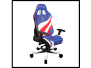 Dxracer Office Chair X Large USA Special Editions OH/KF74/BWR Pc Gaming Chair Computer Chair Executive Chair Ergonomic Desk Chair Automotive Rocker