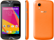 "BLU Dash C MUSIC D390L Orange & Black 2G 3G  Dual SIM Unlocked 4.0"" Phone Android"