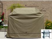 """Heavy Gauge BBQ Grill Cover up to 84"""" Long"""