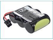 600mAh Battery For Uniden XC4519, XC4534, XCA555, XCA650, XCA2500, XCA2510