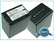 2850mAh Battery For SONY HDR-CX110E, HDR-CX110L, HDR-CX110R