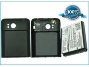 2400mAh Battery For HTC Thunderbolt, Thunderbolt 4G Extended with back cover