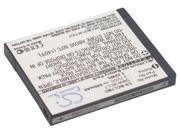 600mAh Battery For Panasonic Lumix DMC-F5P, Lumix DMC-F5S, Lumix DMC-FS50