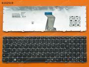 PO Keyboard for LENOVO Y570 PINK FRAME BLACK
