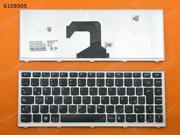 LA Keyboard for LENOVO U410 SILVER FRAME BLACK