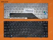 IT Keyboard for MSI Wind U135 U160 BLACK FRAME BLACK
