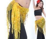 Shinning Beautiful Belly Dance Belly Dance Triangle Coin Hip Scarf Waist chain