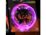 Light Up Pink LED Glow Stick Waterproof Shoelaces Shoestring 3 Modes