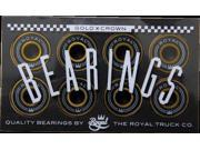 ROYAL GOLD CROWN SKATE BEARINGS single set