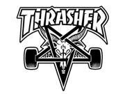 Thrasher Skate Goat Square Sticker