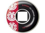 Element SECTION CORE 52mm WHT BLK RED 95a at  Skateboard Wheels