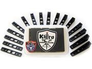 KHIRO RAIL Skateboard RISER KIT ANGLES & WEDGES BLACK