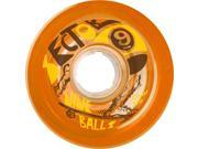 SECTOR 9 TOP SHELF 72mm 75a ORANGE offset Skateboard Wheels