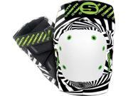 SMITH SCABS  ELITE KNEE PADS L XL PSYCHO B&W