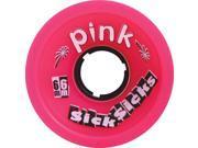 PINK SICKSICKS 66mm 78a PINK Skateboard Wheels