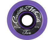 CADILLAC CLASSIC TWO 70mm PURPLE Skateboard Wheels