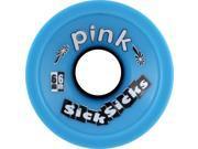 PINK SICKSICKS 66mm 81a BLUE Skateboard Wheels