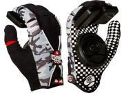 Sector 9 RALLY SLIDE GLOVES YTH S/M- CAMO/BLK