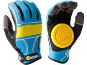 SECTOR 9 BHNC SLIDE GLOVES S M-BLUE
