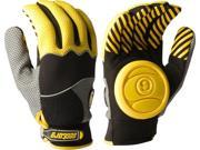 SECTOR 9 APEX SLIDE GLOVES S/M-YELLOW(YEL/GREY/BLK)