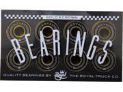 ROYAL GOLD CROWN SKATE BEARINGS single set