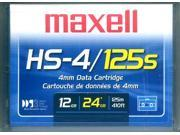 Maxell 4mm 125m DDS-3 12-24GB DDS3 DAT Data Tape Cartridge part# 200025
