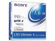 Sony - 1PK LTO4 ULTRIUM 800GB/1.6TB TAPE CARTRIDGE