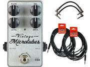 Darkglass Vintage Microtubes Bass Overdrive w/ 4 Free Cables!