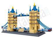 Wange 8013 The Tower Bridge of London Building Block Set Toys