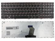 WIFEB Laptop Keyboard with Pink Frame for LENOVO IdeaPad V570 B570 Z570 B570A B570G B575 V570C US Keyboard