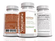 Yacon Root, 60 Veggie Capsules, 1000mg, Maximum Strength, Metabolic Support, Appetite Suppressant