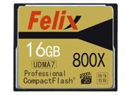 16GB CompactFlash(CF) Memory Card Professional 800x UDMA7