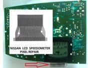 06 2006 NISSAN QUEST INSTRUMENT CLUSTER LCD DISPLAY SPEEDOMETER FADED PIXEL REPAIR RIBBON CABLE