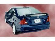 Razzi 2001-2005 Honda Civic 2dr 26L Rear Spoiler