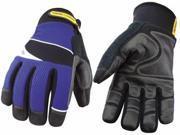Cut Resistant Gloves, Blue/Black, M, 1 PR