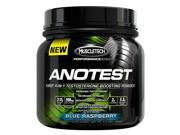 Muscletech Anotest- First 4-In-1 Testosterone Bosting Powder, 40 Servings, Blue Raspberry