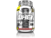 MuscleTech Platinum 100% Whey Supplement, Strawberries and Cream, 2 Pound