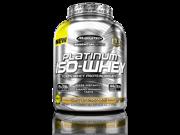 MuscleTech Platinum 100% ISO Whey Supplement, Peanut Butter Chocolate Twist, 3.33 Pound